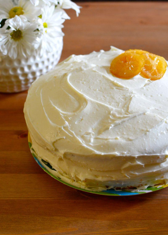 Lemon Birthday Cake With Lemon Cream Cheese Icing Delightfully